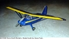 Stinson Voyager #FF53 Easy Built Balsa Wood Model Airplane Kit Rubber Powered