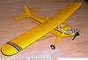 Taylorcraft #FF52 Easy Built Balsa Wood Model Airplane Kit Rubber Powered