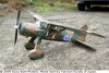 Westland Lysander #FF78 Easy Built Balsa Wood Model Airplane Kit Rubber Powered