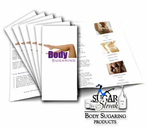 Sugar Streak Body Sugaring Services Brochure