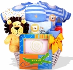 Lion Heart Baby Shower Gift Basket
