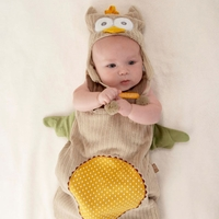Newborn Baby Owl Outfit (Personalization Avail)