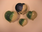 Locally Hand Made Large Heart Bowl