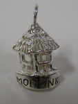 "Sterling Charm; 5 Sided with ""Mohonk"""