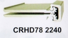 "CAL ROYAL CRHD78 2240 83"" HD FULL MORTISE CONTINUOUS HINGE ALUM (click here to view and buy item)"