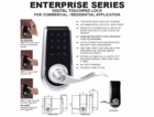 CAL ROYAL ENTERPRISE DIGITAL TOUCHPAD LOCKSET (click here to view and buy item)