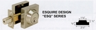 CAL ROYAL ESQUIRE SINGLE CYLINDER DEADBOLT ( click here to view and buy item )