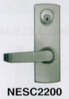 CAL ROYAL NESC2200 LEVER TRIM WITH FULL ESCUTCHEON FOR 2200 SERIES EXIT DEVICE ( click here to view and buy item)