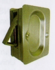 CAL ROYAL PASPDL34 PASSAGE NON LOCKING POCKET DOOR LATCH ( click here to view and buy item )