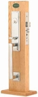 EMTEK 3306 MANHATTAN MORTISE ENTRY HANDLESET (click here to view and buy item)