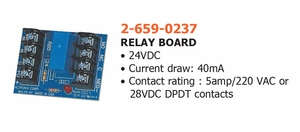 HAGER 2-659-0237 RELAY BOARD ( click here to view and buy item )