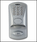 KABA E-PLEX 1500 ELECTRONIC PUSHBUTTON DEADBOLT ( click here to view and buy item)