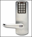 KABA E-PLEX 2000 ELECTRONIC PUSHBUTTON MORTISE LOCKSET (click here to view and buy item )