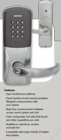 SCHLAGE AD-301 ELECTRONIC LOCK 26D BRUSHED CHROME (click here to view and buy item )