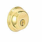 SCHLAGE B60N SINGLE KEY DEADBOLT US3 POLISHED BRASS