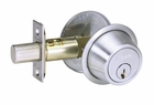 SCHLAGE BC160P SINGLE CYLINDER DEADBOLT 26D BRUSHED CHROME