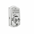 SCHLAGE CAMELOT KEYPAD DEADBOLT 625 POLISHED CHROME FINISH