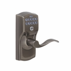 SCHLAGE CAMELOT KEYPAD LOCK WITH AUTO LOCK FEATURE / ACCENT 620 ANTIQUE PEWTER FINISH
