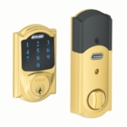 SCHLAGE CAMELOT STYLE CONNECT BRIGHT BRASS ( click here to view and buy item )