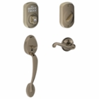 Schlage Camelot Style Keypad Flair lever with Flex Lock Antique Pewter ( click here to view and buy item )