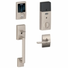 SCHLAGE CENTURY STYLE CONNECT AND HANDLESET WITH LATITUDE LEVER SATIN NICKEL ( click here to view and buy item )