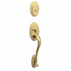 SCHLAGE FA358 WAKEFIELD EXTERIOR HANDLESET 505 POLISHED BRASS  (click here to view and buy item)