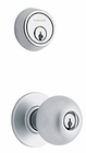 SCHLAGE H153 ORBIT DOUBLE KEY ENTRANCE LOCKSET 26D