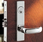 SCHLAGE L9080DEL 03L 26D HEAVY DUTY MORTISE ELECTRICALLY LOCKED 26D BRUSHED CHROME