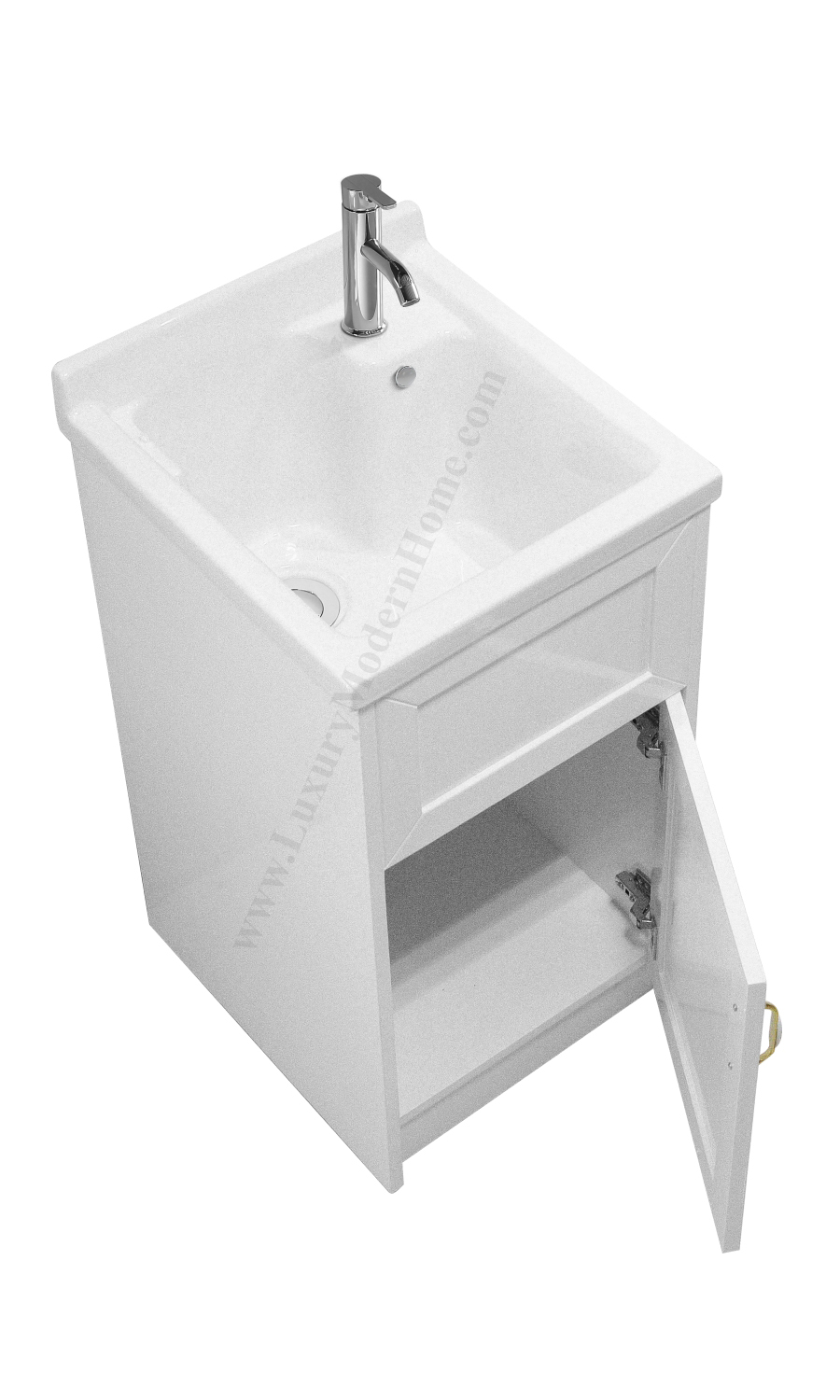 18 Inch Utility Sink With Cabinet : Narrow laundry sinks utility tubs with home depot laundry sink cabinet