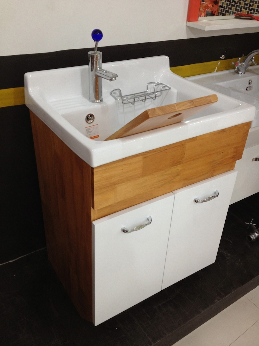 Small Laundry Tubs Sinks : Small Kitchens Wall Mount Bathroom Sink Faucet. Garage Utility Sink ...