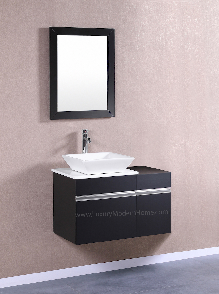 MARCUS 20 Small Black Vanity Sink