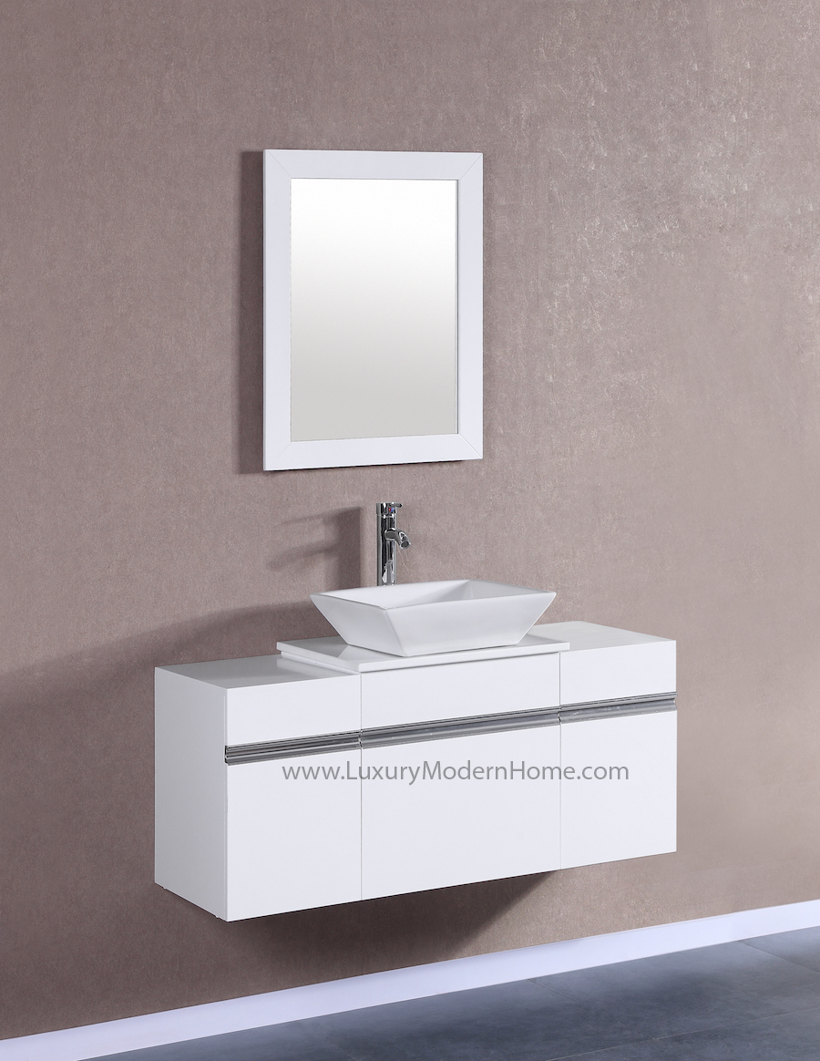 MARCUS 20 Small White Vanity Sink