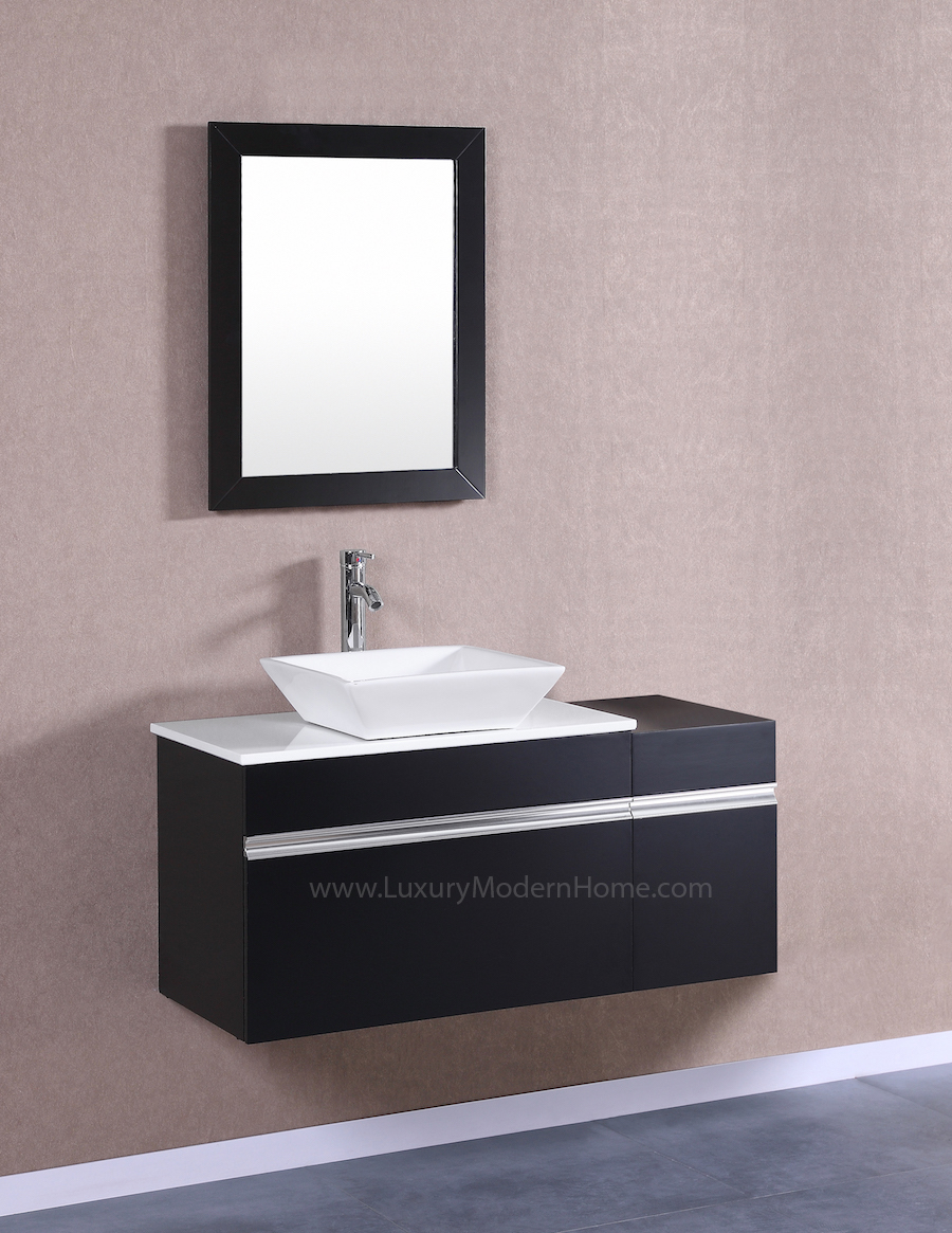 MARCUS 30 Small Black Vanity Sink