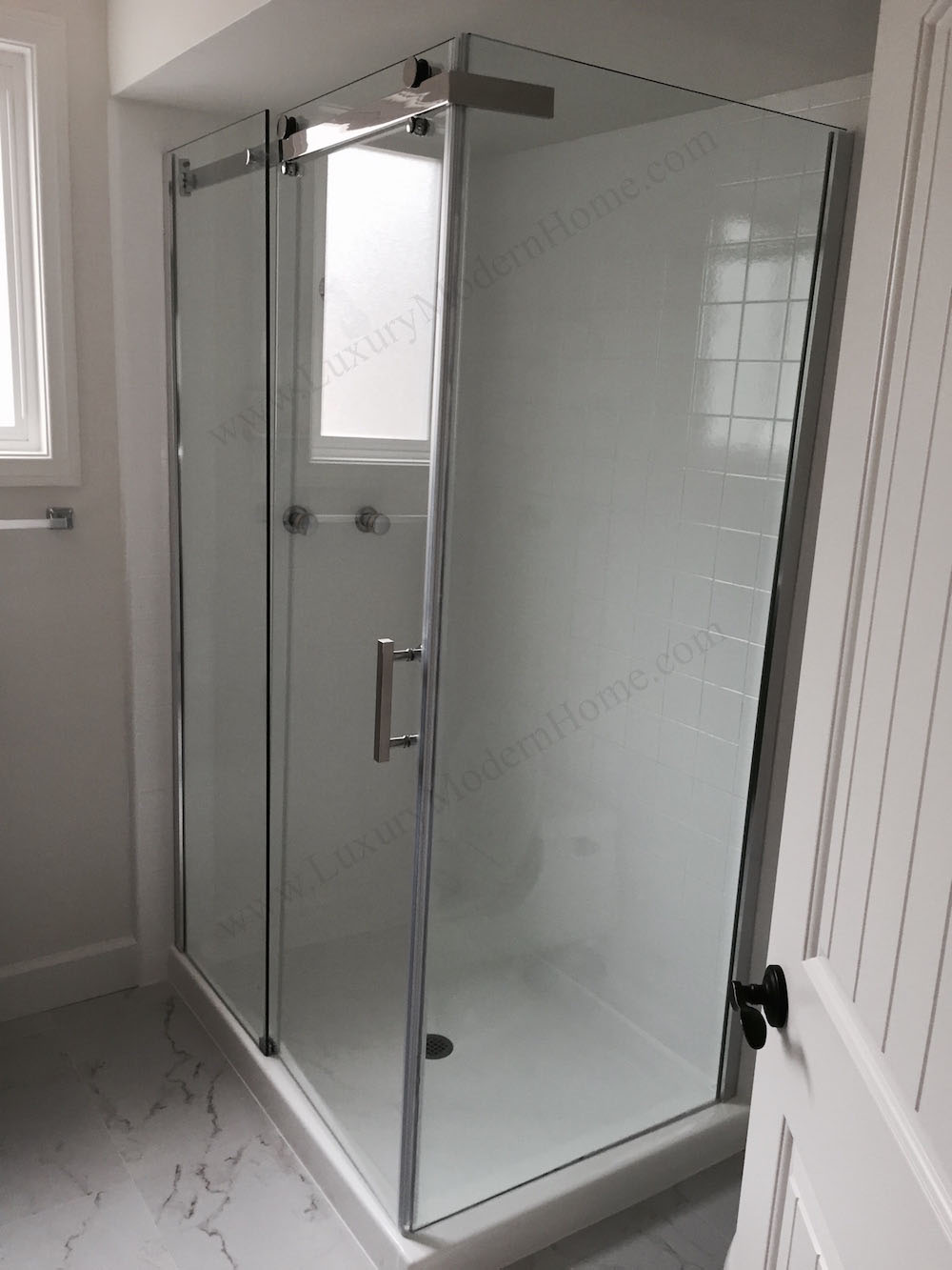 Superieur 32 Corner Shower Stall. MAXIMUS Corner Sliding Shower Enclosure 48 X 32 75  Stall Home