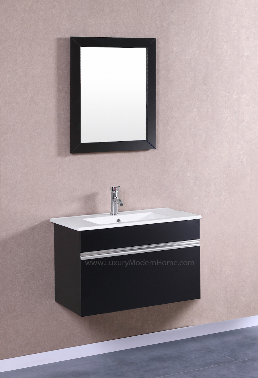 PETRONIUS 30 Black Vanity Sink