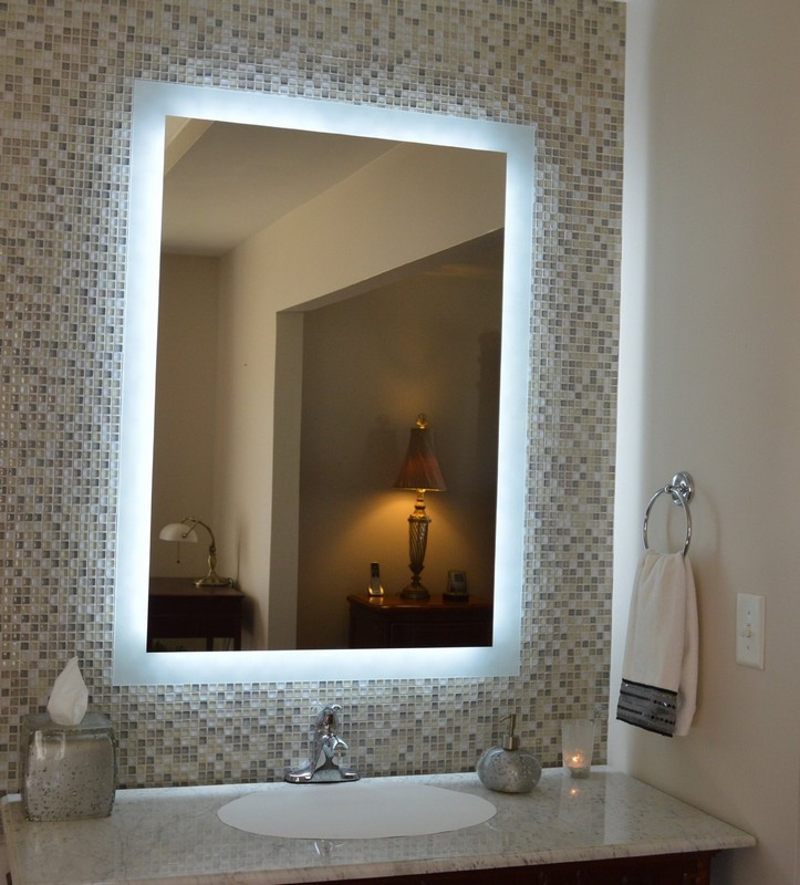 Elegant How To Choose A Bathroom Mirrors With Led Lights