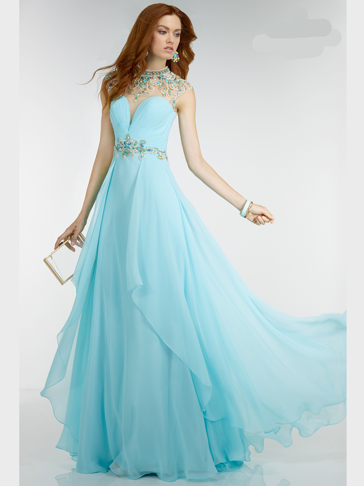 Teal Grecian Style Prom Dresses | Dress images