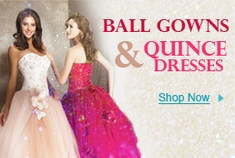 Ball Gowns & Quince Dresses