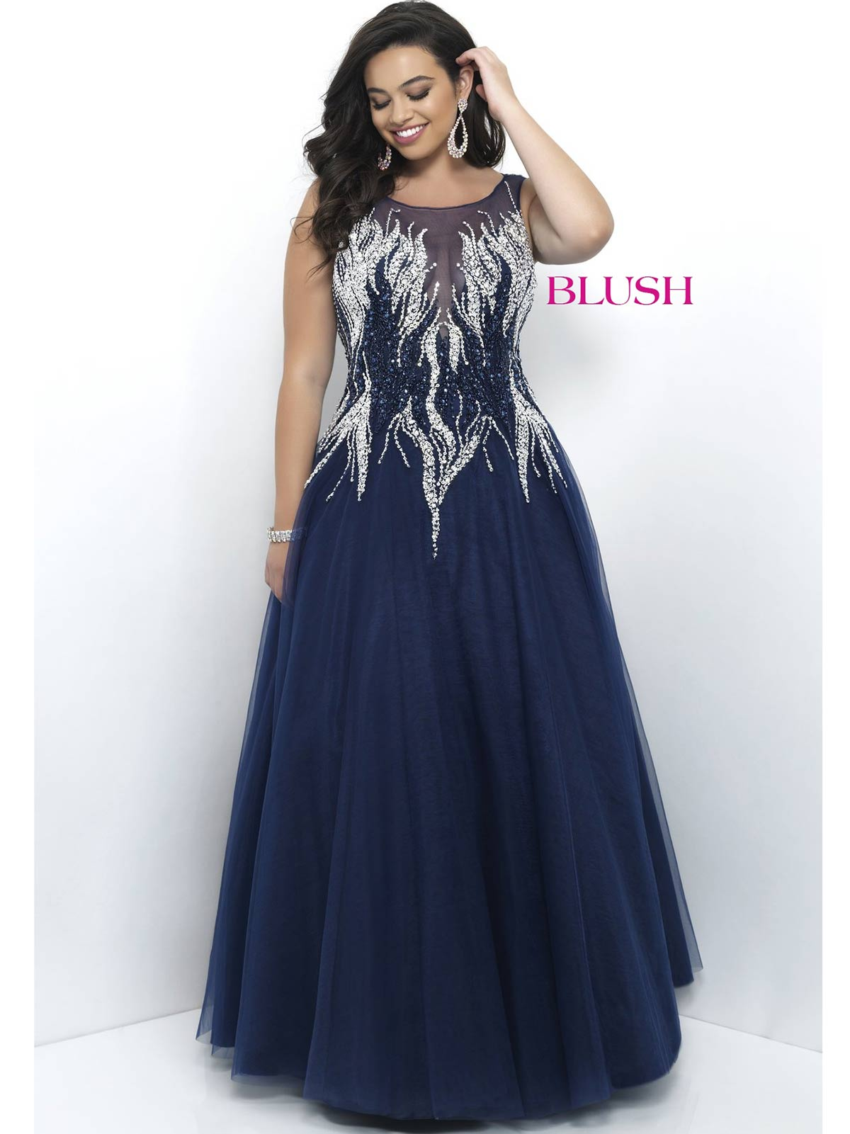 Plus Size Ball Gown Prom Dresses - Plus Size Dresses