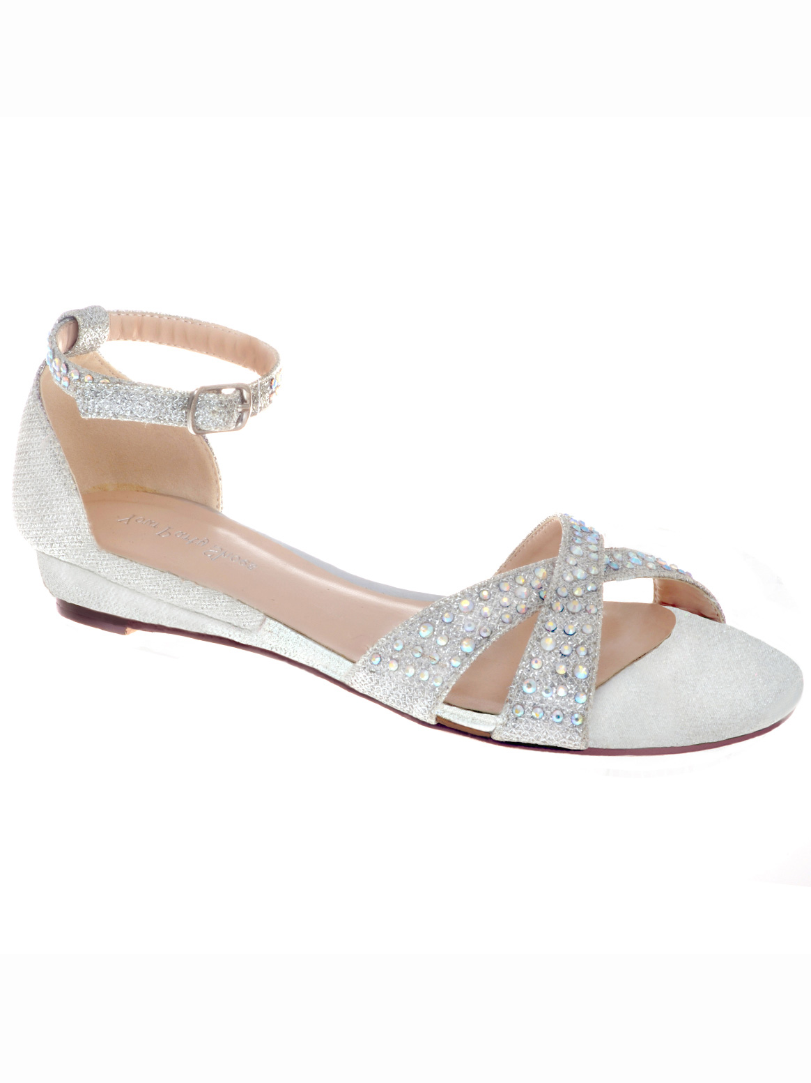 Wedding Prom Sandals your party shoes 822 lilly silver prom sandalsdressprom net embellished sandals 822