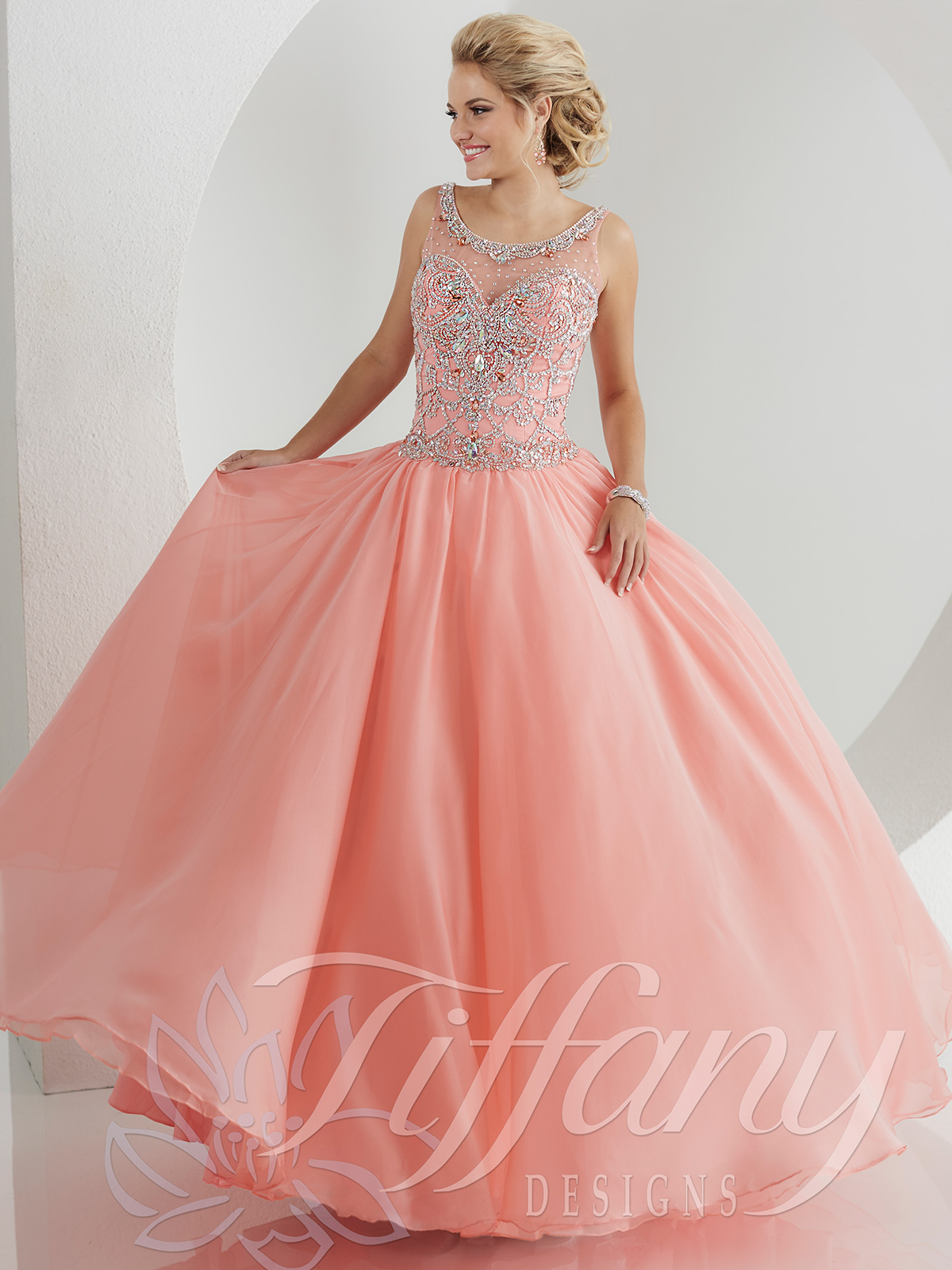 Tiffany Designs Ball Gown Dresses | DressProm.net