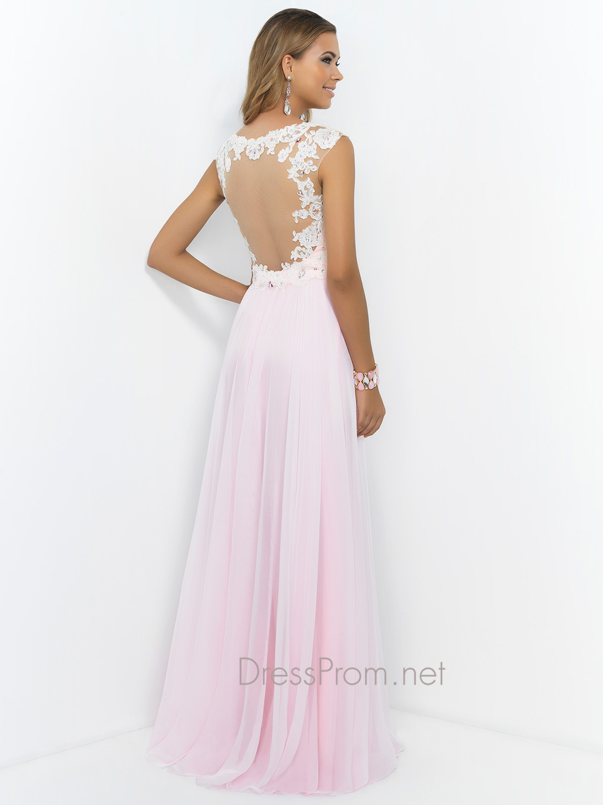 Light Pink Prom Dresses - Plus Size Tops