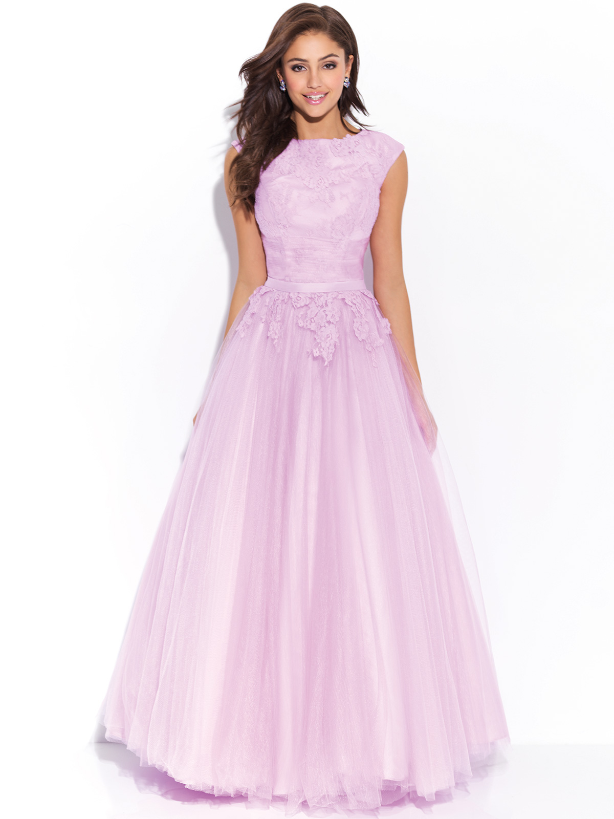 Prom Dresses with Cap Sleeves