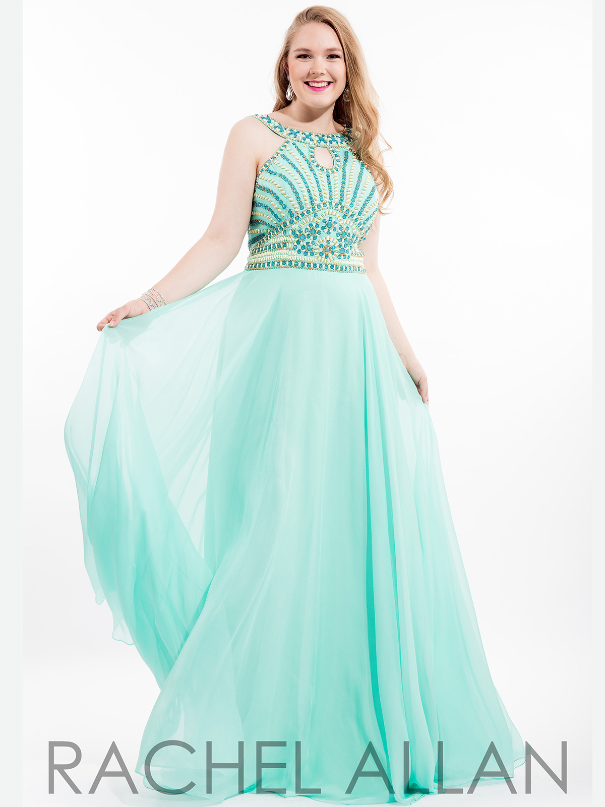 Mint green plus size prom dresses - Fashion Dresses