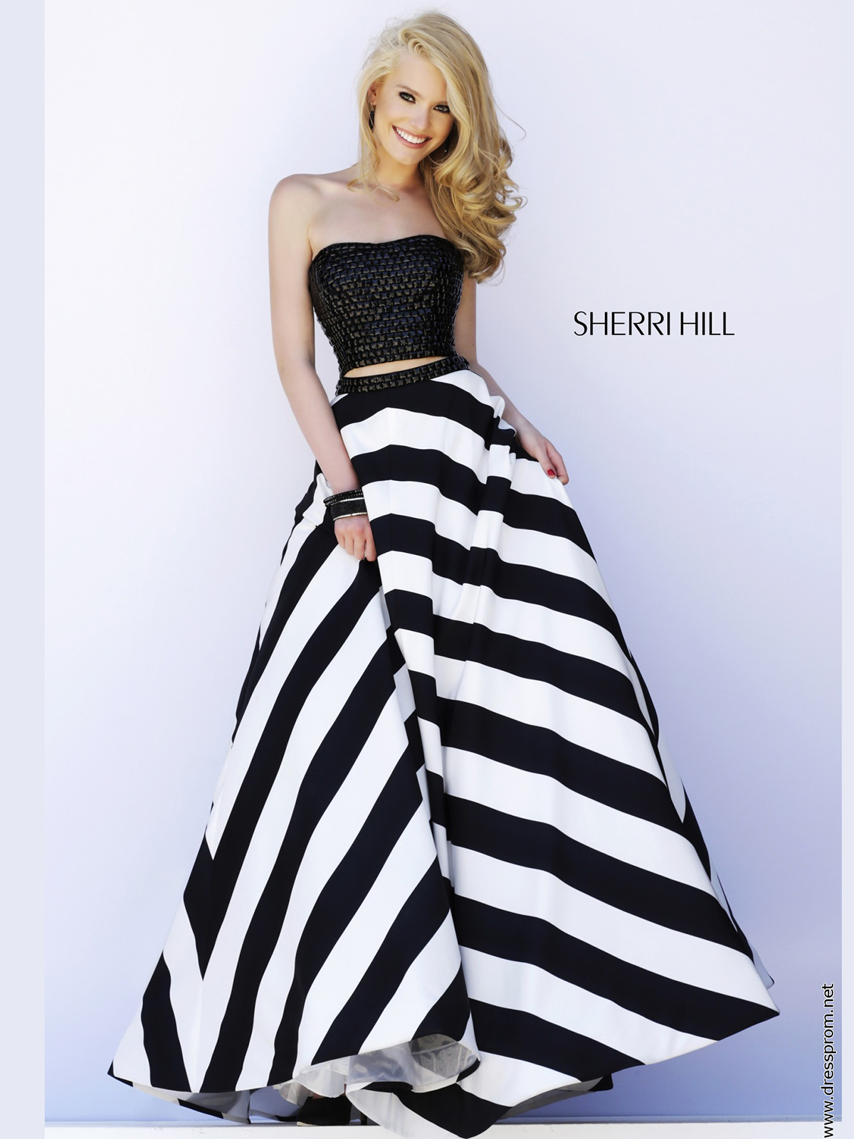 Striped Prom Dresses - Prom Dresses With Pockets
