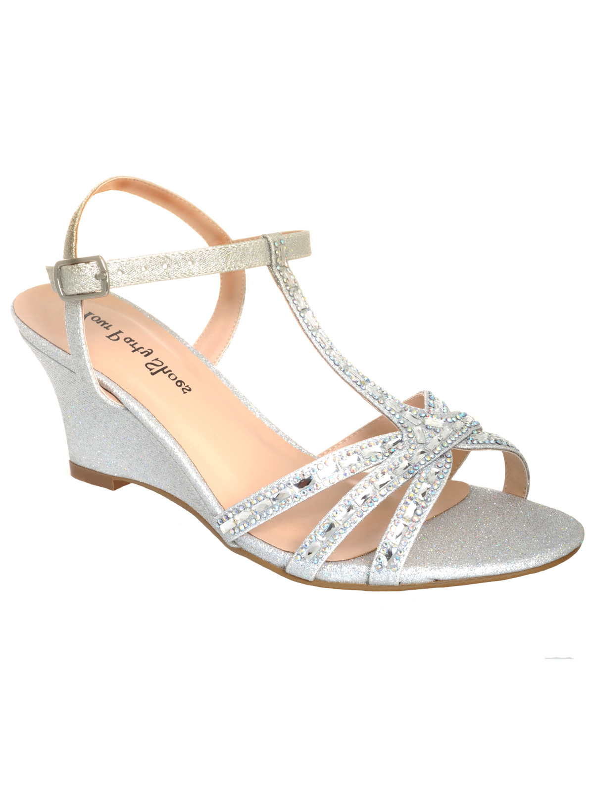 Wedding Prom Sandals your party shoes 803 mia strappy silver prom sandalsdressprom net sling back sandals 803