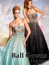 Terani Couture Prom Ball Gowns 2013