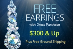 Waterfall Prom Earrings FREE!
