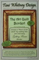 Gallery Frame Border Kit  with 1 yd. of the perfect brown batik