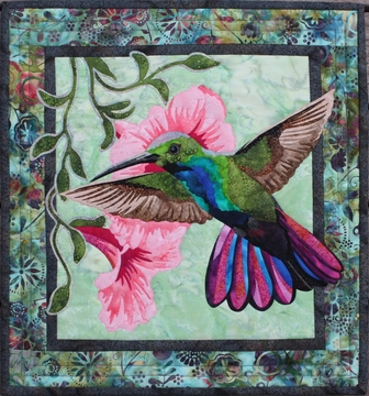 "Hummingbird Pattern 19 1/2"" x 21"""